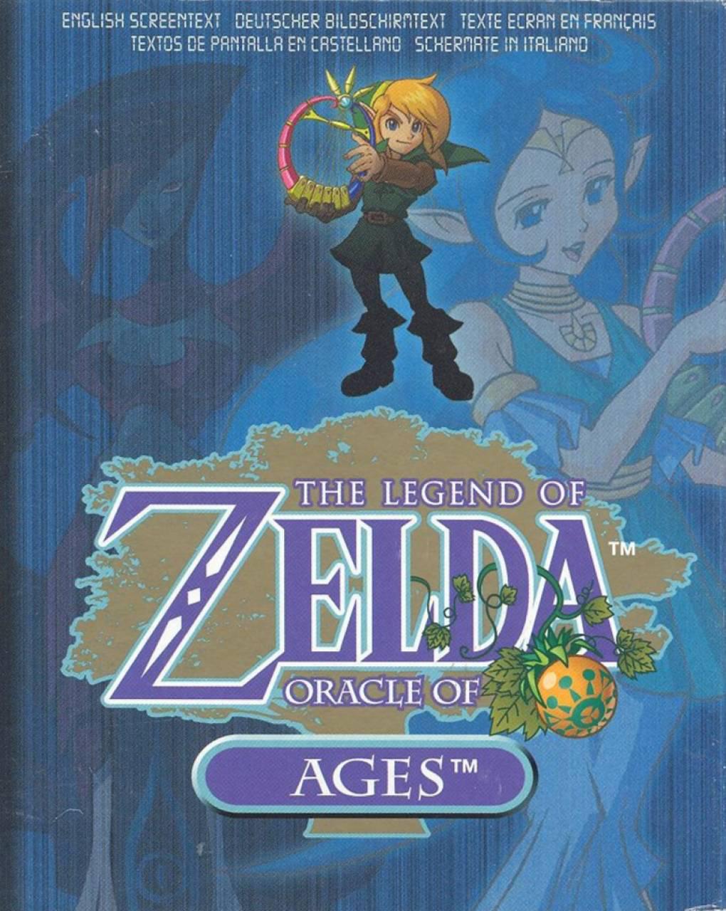 Mermaid's Cave - Zelda: Oracle of Ages Walkthrough