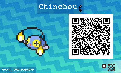 pokemon sun and moon how to catch chinchou