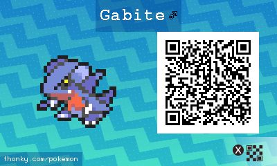 how to get gabite in pokemon sun