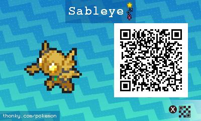 Sableye QR Codes - Pokémon Sun and Moon Walkthrough