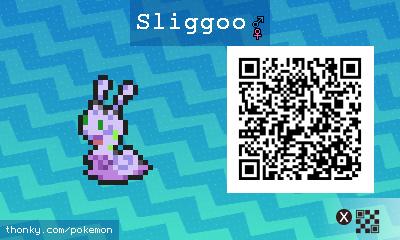 sliggoo qr codes pokémon sun and moon walkthrough