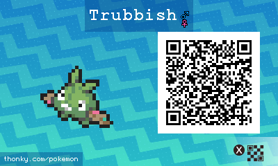 how to get trubbish in sun and moon