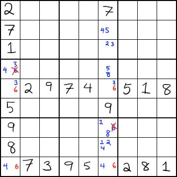 sudoku X puzzle 10